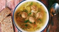 Суп з фрикадельками з вермішеллю