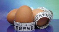 Яєчна дієта на 4 тижні: правила і меню