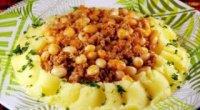 Рецепти приготування соусу з м'ясом і картоплею