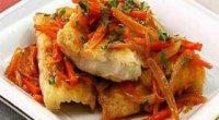 Минтай під маринадом з моркви і цибулі: способи приготування смачних рибних страв