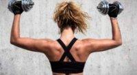 Зміцнюємо м'язи вдома: як накачати спину гантелями?