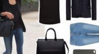 З чим носити чорний жіночий піджак, чим його прикрасити?