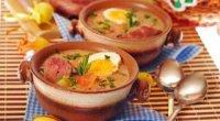Гороховий суп з копченою ковбасою: рецепти приготування