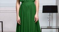 Зелене плаття: як правильно підібрати колір і фасон