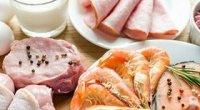 Продукти, що містять білок: список, користь для здоров'я та схуднення (5 таблиць)