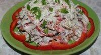 Салат з яловичиною і болгарським перцем: рецепти