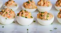 Яйця, фаршировані печінкою тріски: рецепти з фото