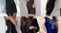 Який клатч підійде до чорної сукні