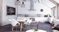 Біла цегла в інтер'єрі: як обіграти житлове приміщення з її допомогою?