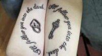 Парні татуювання для двох закоханих
