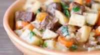 Печеня з яловичини з картоплею: рецепти