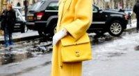 Жіноче жовте пальто: як правильно вибрати модель і з чим носити цей вид верхнього одягу
