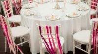 Прикраса стільців на весілля своїми руками