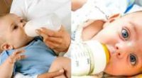 Як привчити дитину до пляшечки