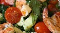 Салат з руколою і креветками – рецепт смачного салату