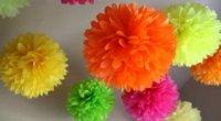 Як зробити квіти з паперових серветок: покрокова інструкція