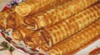 Рецепт трубочок у вафельниці: як самому спекти хрусткі ласощі?