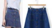 Перешиваємо старі джинси в спідницю