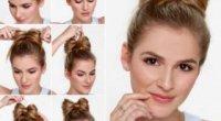 Як зробити красивий бант з волосся для модниць і кокеток