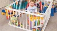 Як вибрати манеж для дитини