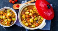 Рагу овочеве з баклажанами і кабачками