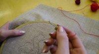 Килимова вишивка голкою для початківців своїми руками