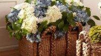 Штучні квіти для домашнього інтер'єру