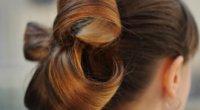 Як зробити бант з волосся – схема плетіння