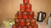 Кращі рецепти баклажанового соте на зиму