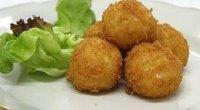 Рецепт картопляних крокетів з сиром і грибами