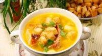Рецепти сирного супу з куркою в мультиварці
