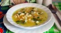 Суп з сирними галушками – 5 покрокових рецептів