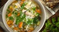 Суп на свинячому бульйоні: рецепти з фото