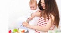 Чи корисні овочі та фрукти під час годування?