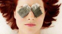 Секрети краси: вчимося використовувати чайні пакетики для очей
