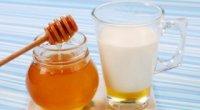Гаряче молоко з медом для лікування застуди: як діє і як приготувати