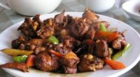 Курка по-китайськи в кисло солодкому соусі