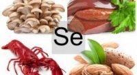 У яких продуктах міститься селен, а також цинк, кремній і в чому їх користь