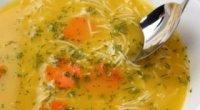 Як приготувати курячий суп з макаронами та іншими компонентами?