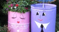 Як прикрасити двір приватного будинку квітами, прикраса клумб