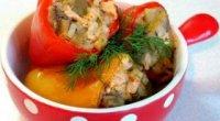 Фарширований перець: дізнаємося калорійність готової страви