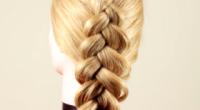 Як плести косу на виворіт?