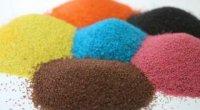 Як пофарбувати манку для виробів в різні кольори?