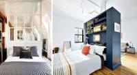 Поділ кімнати на дві зони: ідеї та варіанти