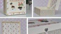 Друге життя коробки: як з неї зробити красиву шкатулку для рукоділля?