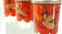 Перець, фарширований овочами на зиму: рецепти