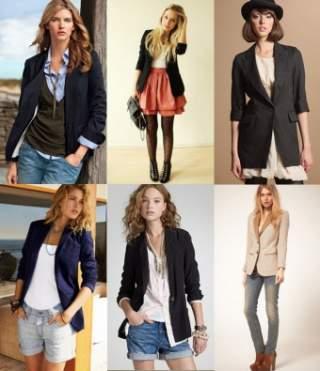 З чим же можна носити чорний жіночий піджак  Він вдало поєднується з  джинсами 0b664210b0b26