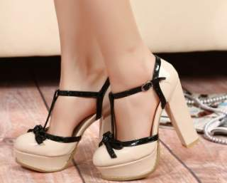 Туфлі на товстому каблуці – елемент ретро 4da127185bcca