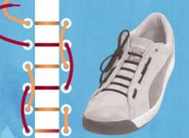 Як зав язати шнурки на кедах красиво  ~ Жіночий сайт