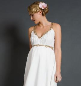Весільні сукні для вагітних жінок  створюємо бездоганний образ ... 20c3498192331